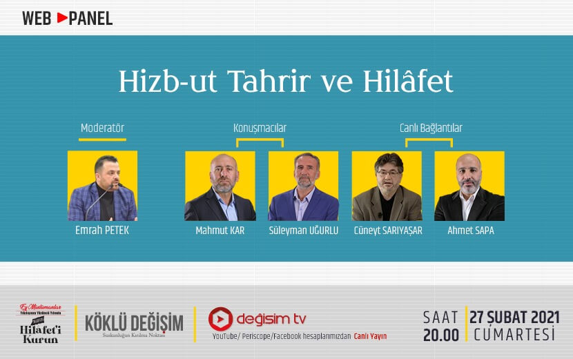 "Panel 3: ""Hizb-ut Tahrir ve Hilafet"